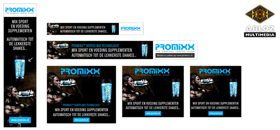 Banner pakket affiliate marketing Promixx.nl