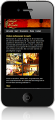 Mobiel webdesign website: DeLuwte