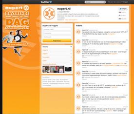 Twitter achtergrond