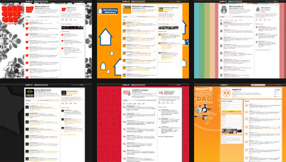 Twitter achtergrond ontwerpen